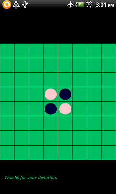 Reversi no computer (Othello) applications